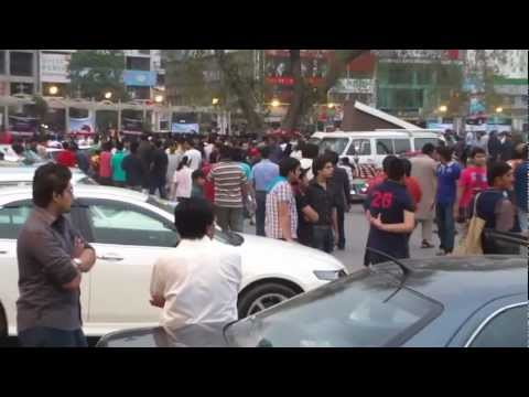 2nd Auto show 25 March 2012 New and Old Cars Liberty Market Lahore, Pakistan