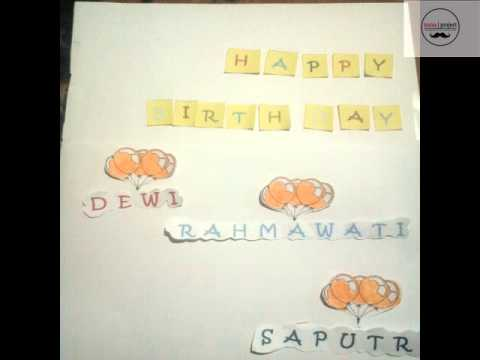 download lagu Video Stop Motion Happy Birthday (By nunuProject) gratis