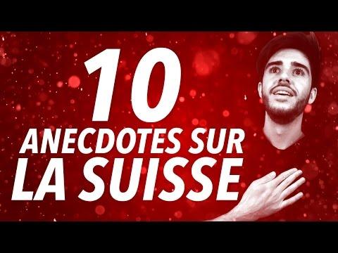 10 anecdotes sur la Suisse