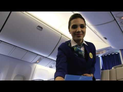 """Uzbekistan Airways"" promo"