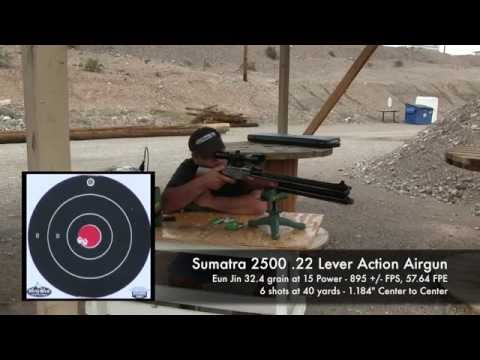 Sumatra 2500 .22 Pellet testing. dialing in the power - by Rick Eutsler / AirgunWeb