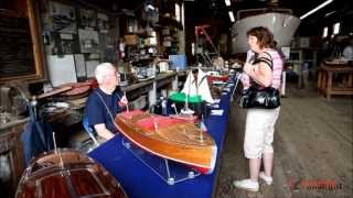 Richmond Maritime Festival 2013-model ships display-video by huong N. Van BC Canada