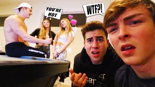 CHEATING IN FRONT OF OUR BOYFRIEND'S TO SEE THEM REACT.. (oof)