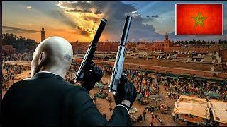 القاتل المأجور اغتيل محترم في مدينة مراكش المغرب - Hitman Marrakesh #4