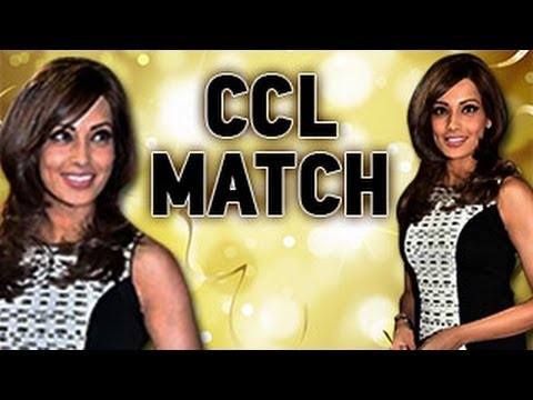 Bipasha Basu at Celebrities Cricket Match League - MUST WATCH