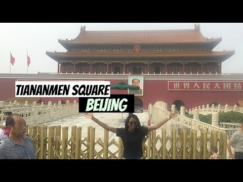 2 mins at TIANANMEN SQUARE, BEIJING