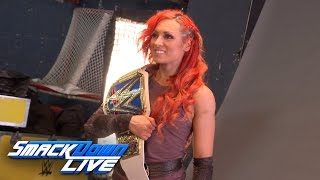 Becky Lynch is photographed as SmackDown Women's Champion: Sept. 13, 2016