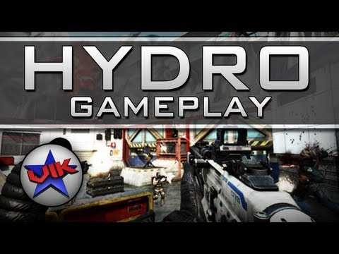 Black Ops 2 HYDRO Gameplay with Diamond Peacekeeper