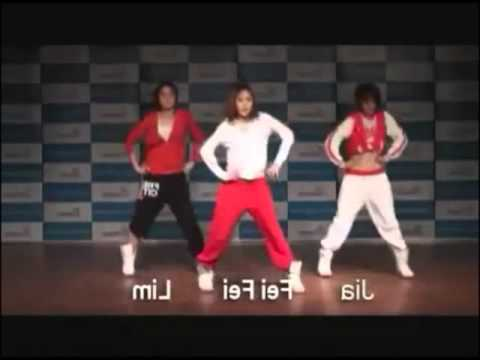 Boom Boom Pow  Jyp Girls Dance Tutorial Mirrored+full Speed+slow 75% video