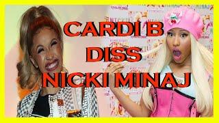 Cardi B - Money - (Nicki Minaj Diss) snipped leaked