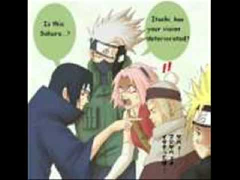 Naruto follando con Shizune, Sakura, Tsunade Temari e