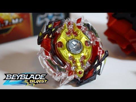 Beyblade Review - B-86 Starter Legend Spriggan.7.Mr  [Beyblade Burst God/Evolution]