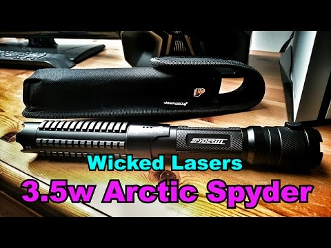 Wicked Lasers s3 Arctic Spyder Laser 3.5w 445nm