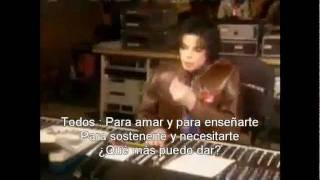 Michael Jackson & Friends - What More Can I Give (Subtítulos en español)