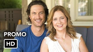 """Splitting Up Together 2x02 Promo """"Asking for a Friend"""" (HD) Jenna Fischer comedy series"""