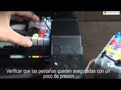 Instalacion Sistema Continuo Epson XP211 TintaContinua