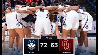UConn Women's Basketball Highlights v. Oklahoma 12/19/2018