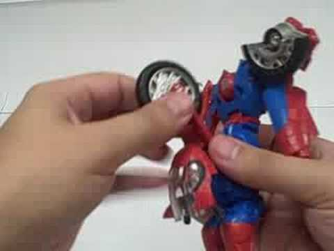 Marvel Transformers Crossovers Spider-Man