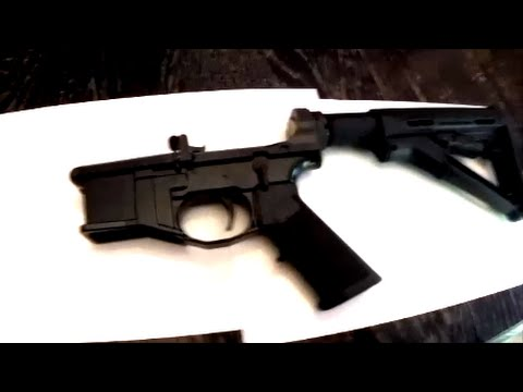Polymer80 G150 AR15 Lower Experiences and Review