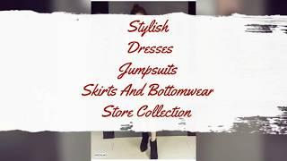 #fashion #trending Stylish Dresses l Jumpsuits | Skirts And Bottomwear