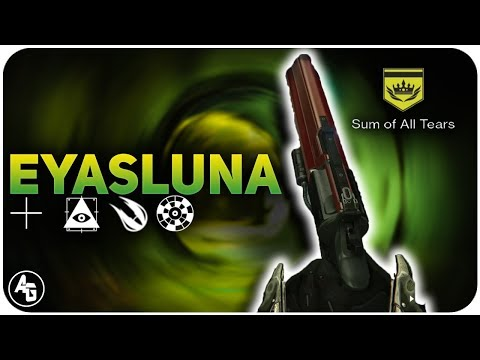 Explosive Rounds vs Rifled Barrel on Eyasluna | Destiny