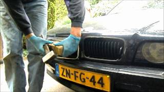 BMW E38 Grill removal without breaking them