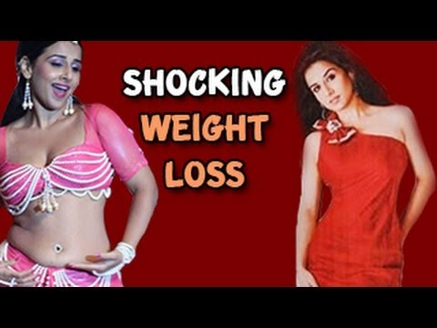 Vidya Balan's Shocking Weight Loss video