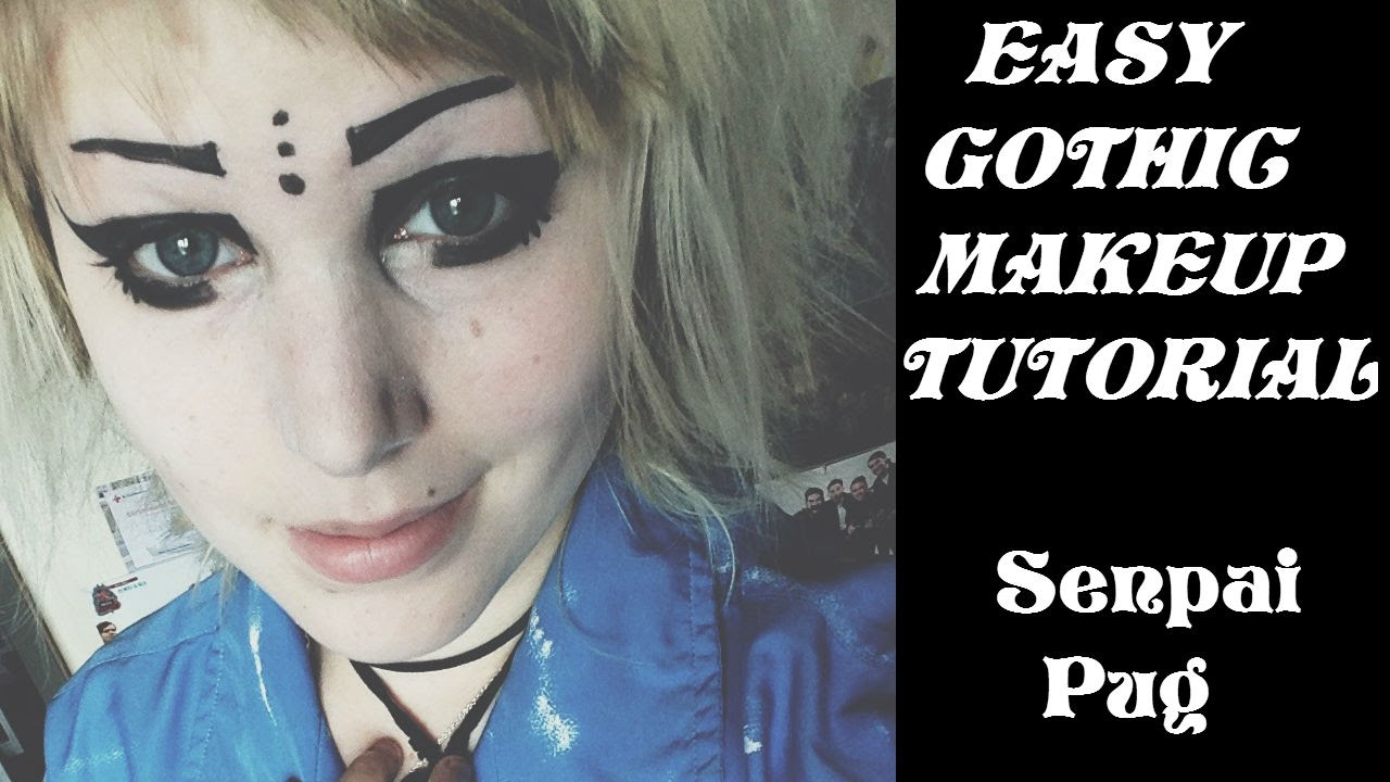 Easy Gothic Makeup Easy Gothic Makeup Tutorial
