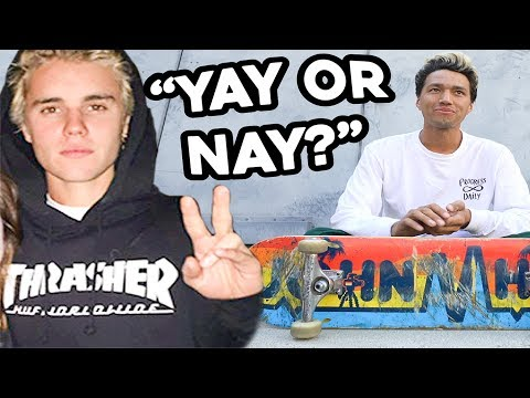 WHAT SKATERS THINK OF POSERS WEARING THRASHER?!