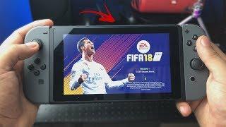 CHEGOU O FUTEBOL PORTÁTIL QUE VOCÊ SEMPRE SONHOU JOGAR - Fifa 18 Switch