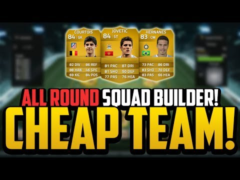 CHEAP 15K SQUAD BUILDER! w/ JOVETIĆ! | FIFA 14 Ultimate Team