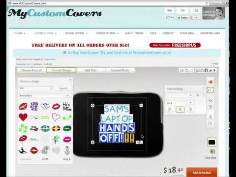 Custom Laptop Cases - Design Your OWN Custom Laptop Cases Online!