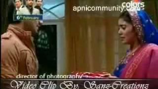 Bhagyavidhaata - Vinay Gifts Bindiya a Saree as Wedding Anniversary Gift