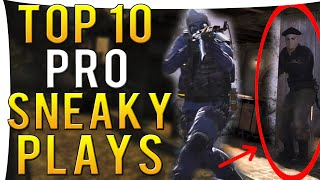 CS:GO - TOP 10 PRO SNEAKY BEAKY PLAYS I Episode 1 I ft.Snax,PashaBiceps &More!