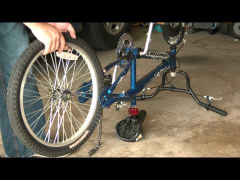 how to take a tube out of a bike tire