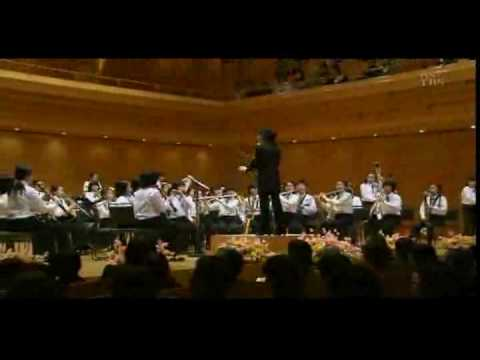 Japan 2009's top elementary school symphonic band performance