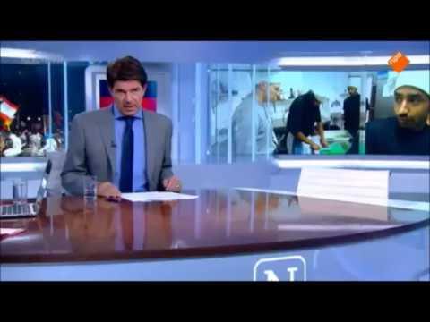 Nieuwsuur-presentator beledigt verontruste burgers.
