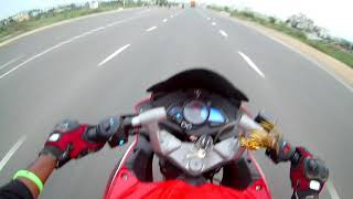 RS 200 vs CBR 250r...ride on topspeed