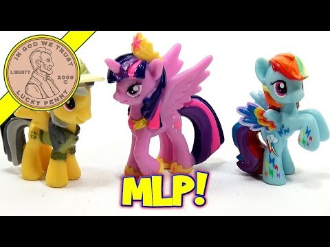 My Little Pony Daring Pony Story Set - Rainbow Dash, Daring Do & Princess Twilight video