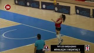 Mihallıççıkspor 2 - Beşiktaş 3 | TVF Kadınlar Voleybol 2.Hafta