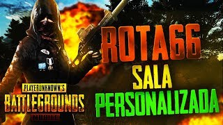 SALA PERSONALIZADA COM OS INSCRITOS PUBG MOBILE ! !LOOTS