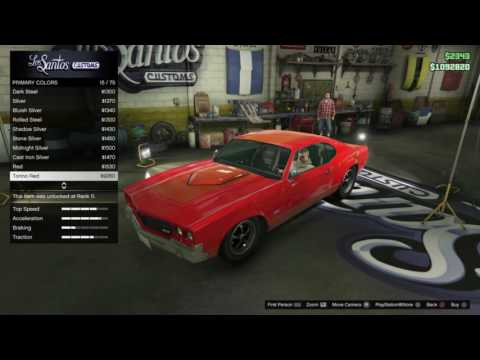 'Fast & Furious Toretto's Chevelle early' Declasse Sabre Turbo