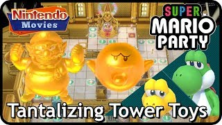 Super Mario Party: Tantalizing Tower Toys (30 Turns! 2 Players, Master Difficulty, Partner Party)