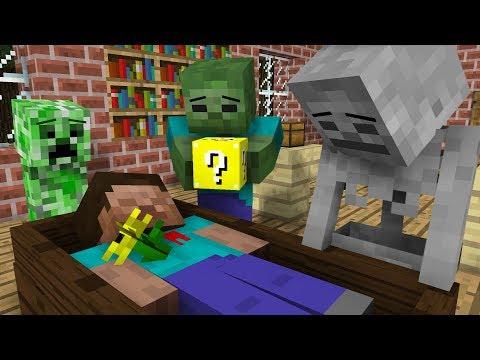 Monster School: Lucky Block Challenge - Minecraft Animation