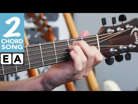 EASY 2 Chord Beginner Guitar Song #1 How to play 'For What It's Worth' by Buffalo Springfield