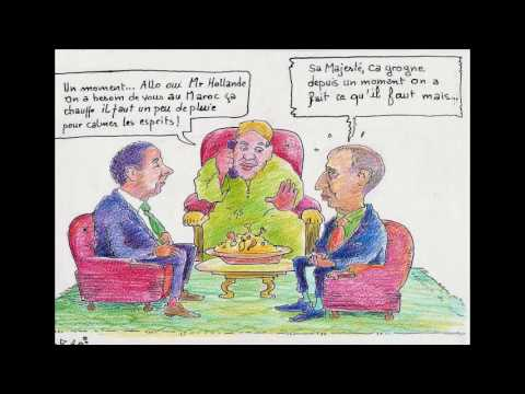 Caricatures Marocains