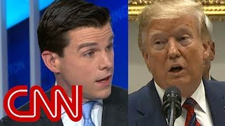 CNN reporter responds to Trump: That's not true