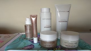 Daily Skin Care routine.........with Optimals Even Out set......