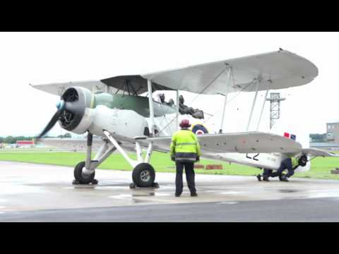 Fairey Swordfish LS326/L2 Start Up & Take Off