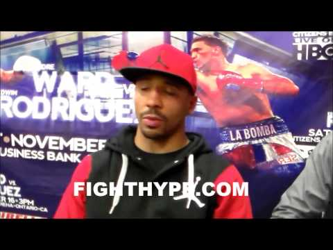 ANDRE WARD DOESNT THINK GENNADY GOLOVKIN WANTS TO FIGHT RIGHT NOW BUT SEES BIG FIGHT IN FUTURE